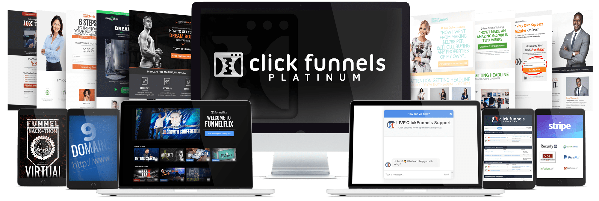 Clickfunnels Package