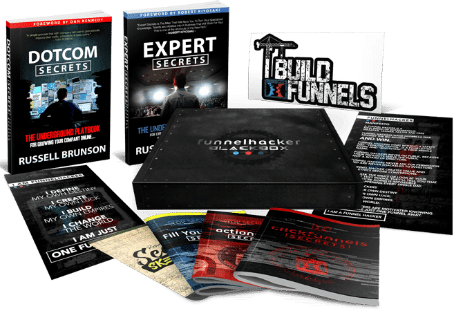 ClickFunnel Funnel Hacker BlackBox