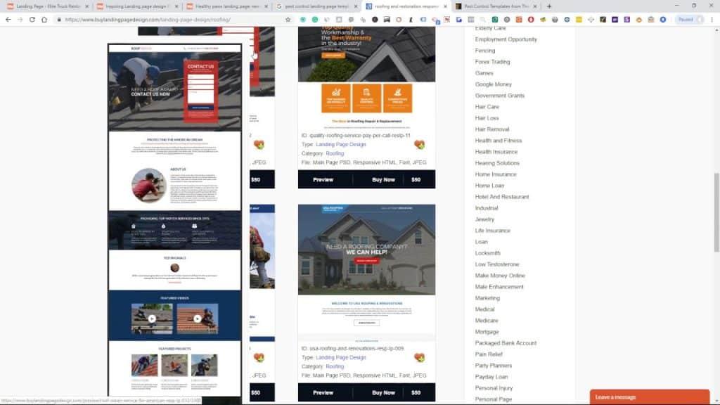 Landing Page Design Techniques