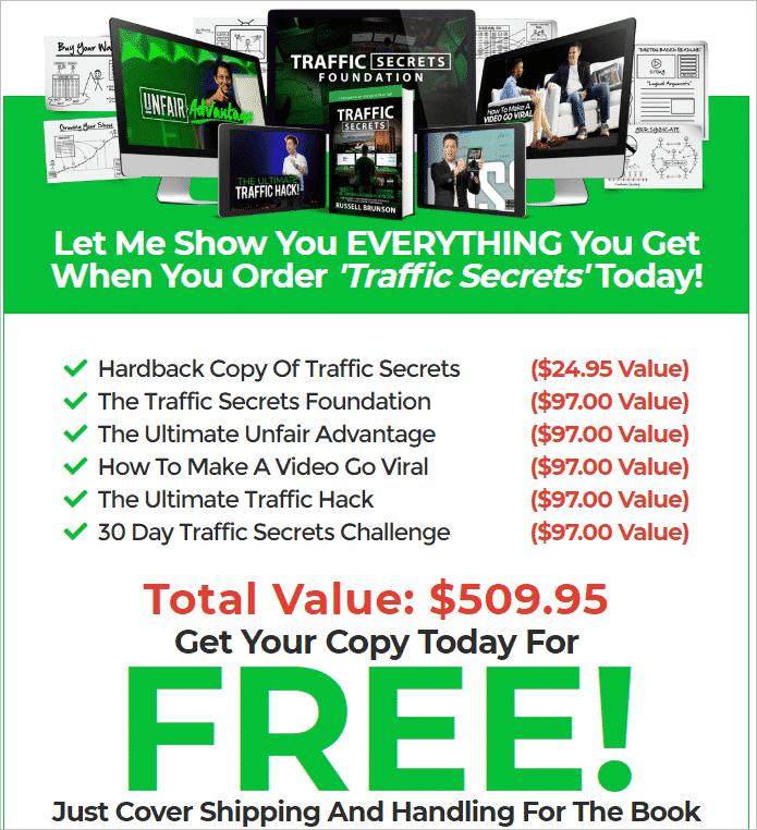 Traffic Secrets Pricing