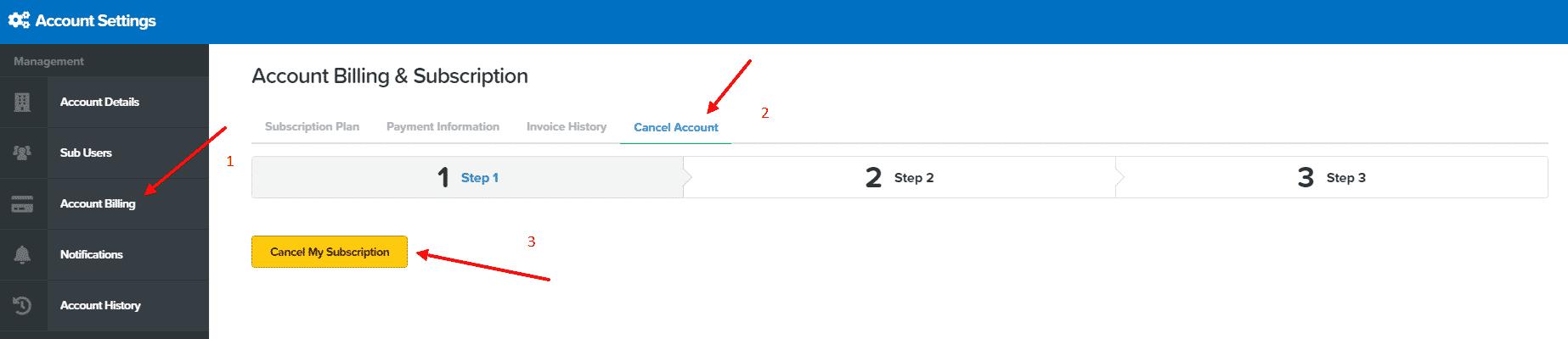Cancel Your ClickFunnels Account