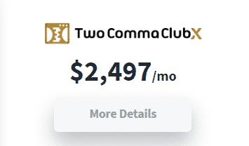 ClickFunnels TwoCommaClubX