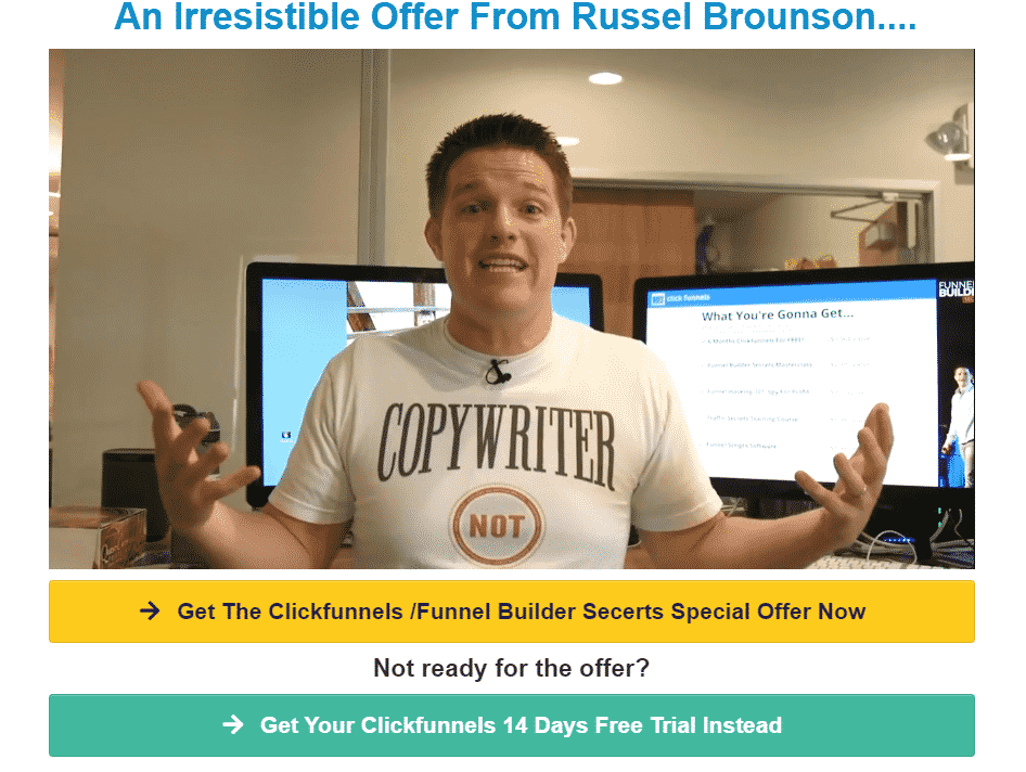 Clickfunnels Discount Trick #1