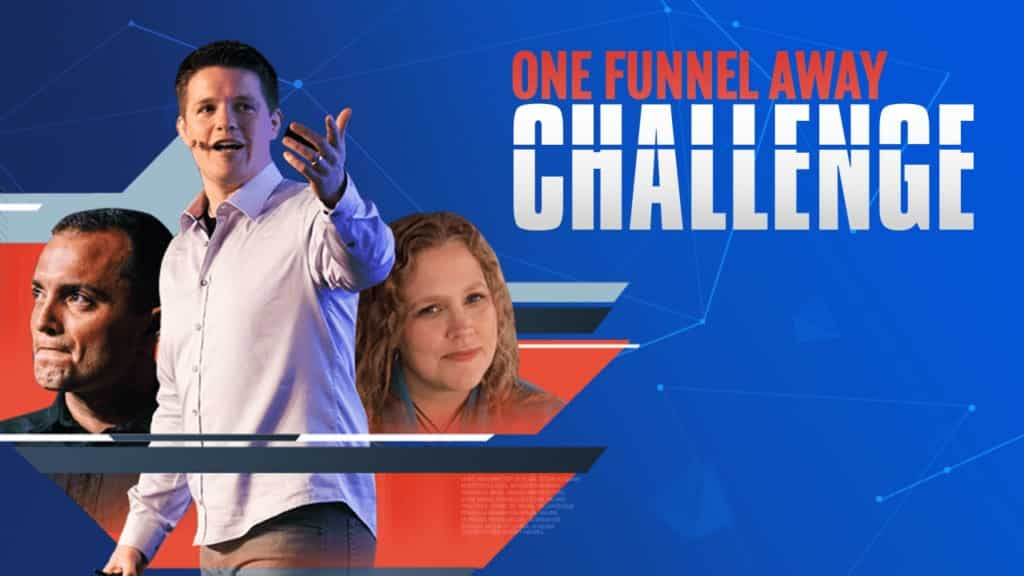 Be the Part of One Funnel Away Challenge