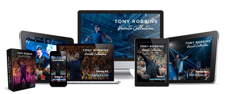 Induction of Tony Robbins Private Collection