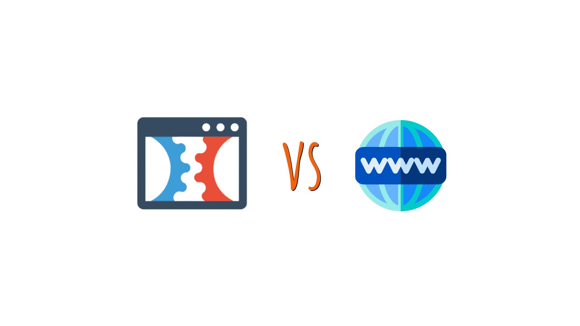 Principle of Clickfunnels vs Website