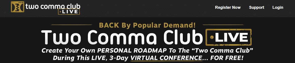 Review of the Two Comma Club LIVE Conference Benefits