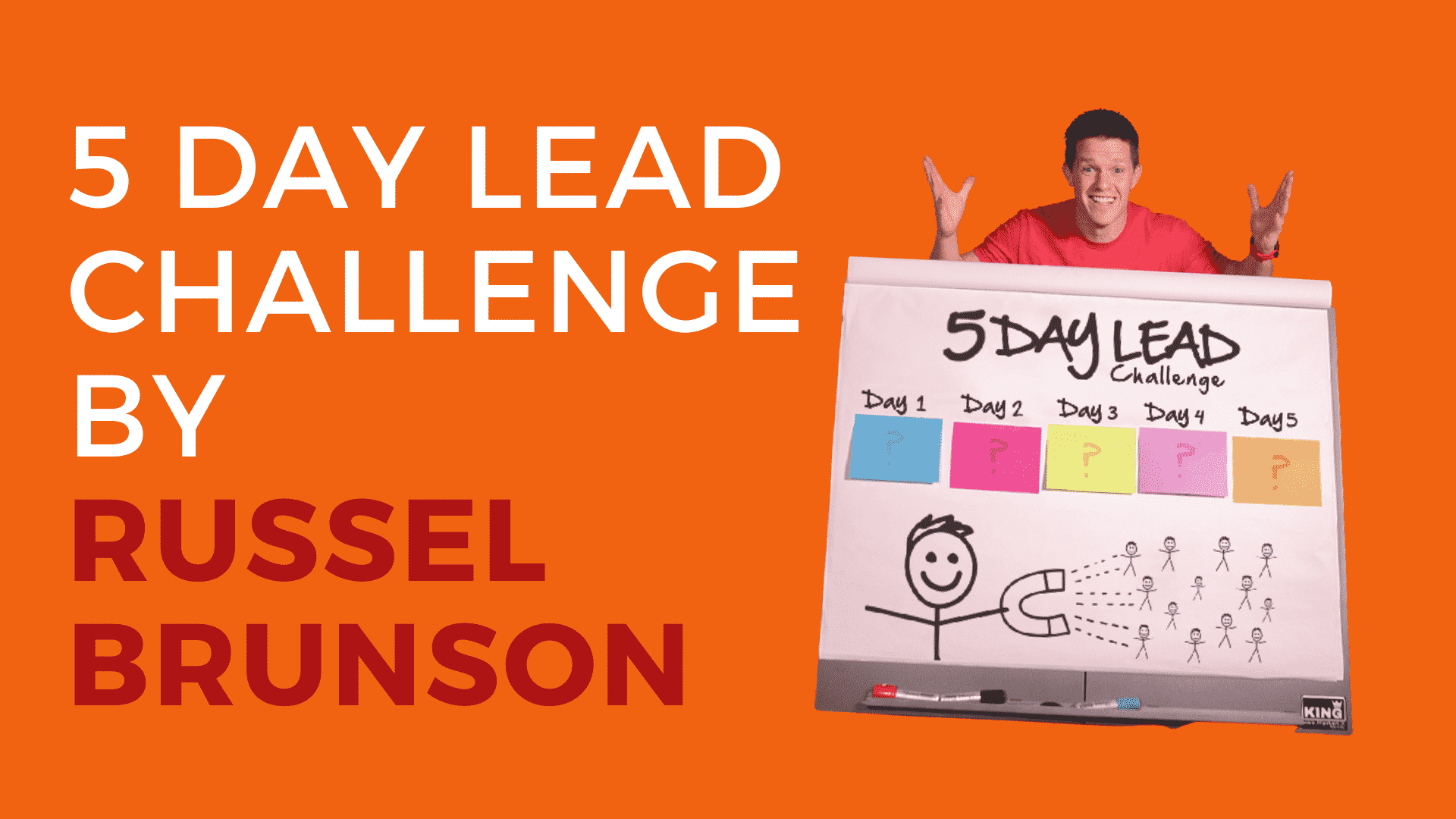 5 Day Lead Challenge by Russell Brunson