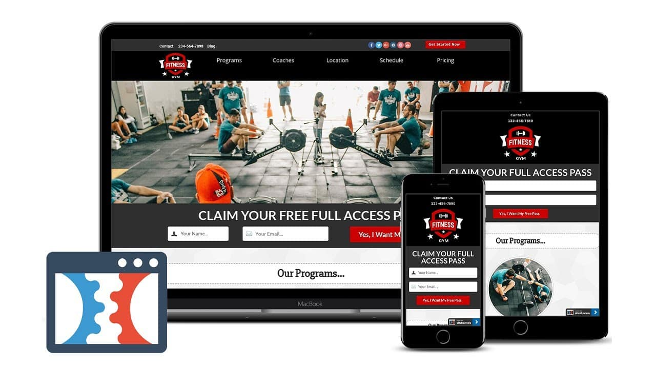 ClickFunnels Cross-Fit Box Funnel Template