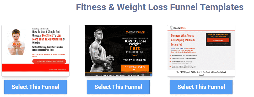 ClickFunnels Gym Funnel Template
