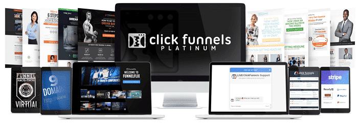 Features of ClickFunnels Platinum