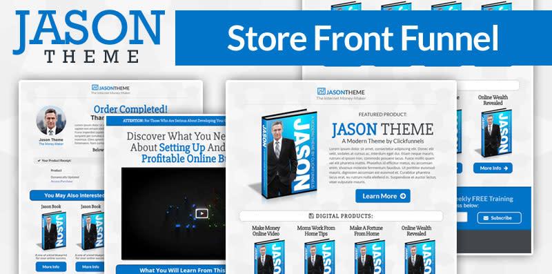 Jason Storefront Funnel