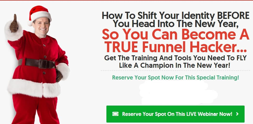 ClickFunnels Christmas Special Offer